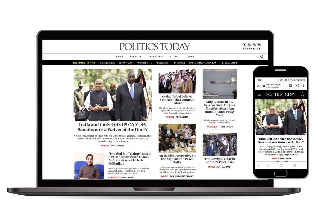 Politics today responsive - IRM Dijital